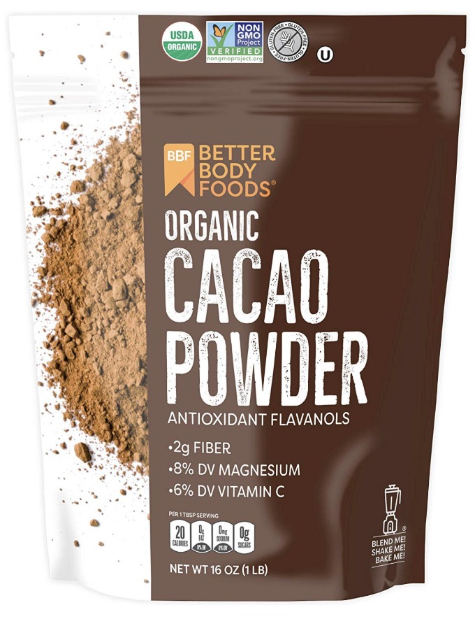 Better Body Foods Cacao Powder