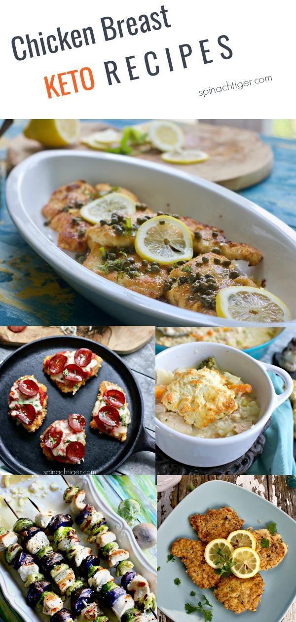 Chicken Breast Keto Recipes