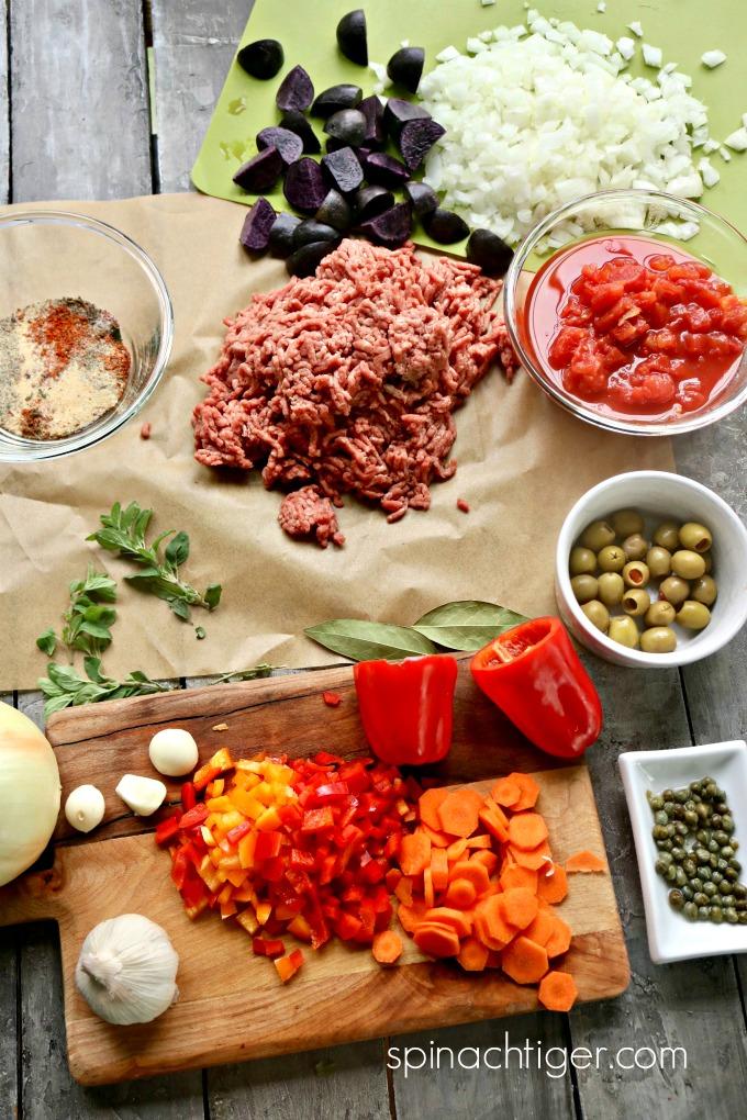 Cuban Picadillo Ingredients