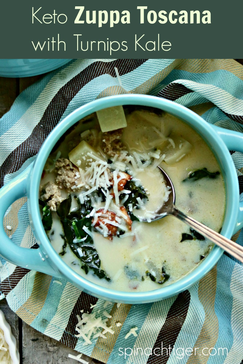 Zuppa Toscana from Spinach Tiger via @angelaroberts