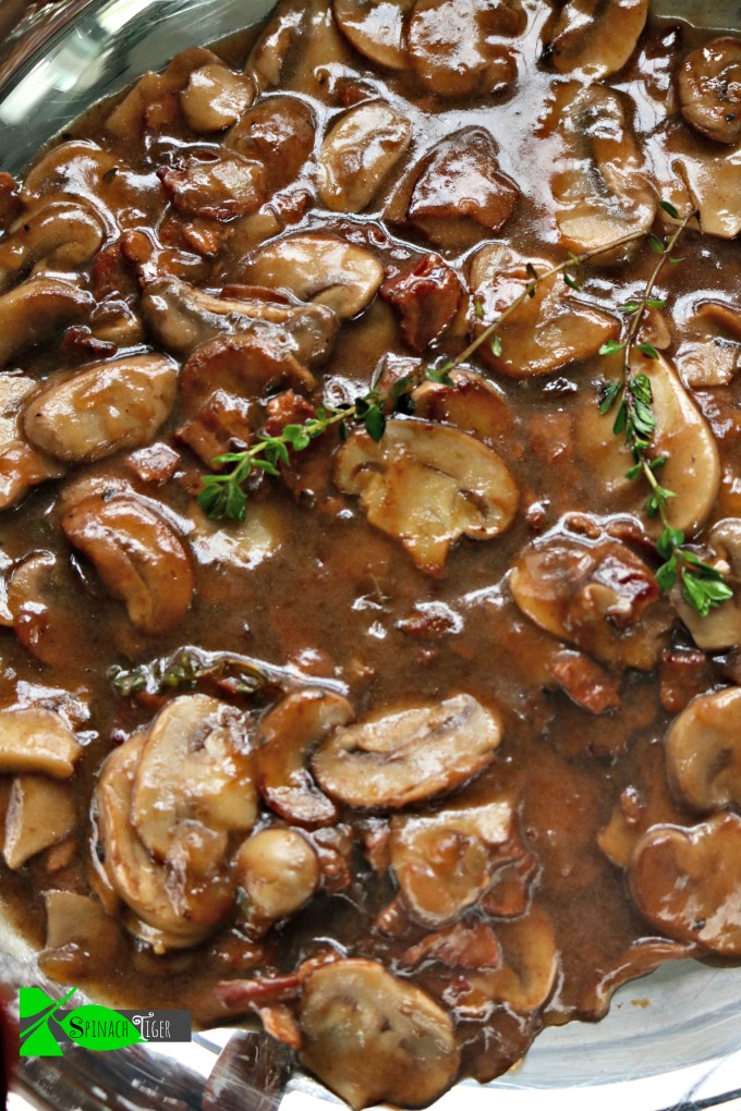Steak Mushroom Sauce (for burgers, steaks)