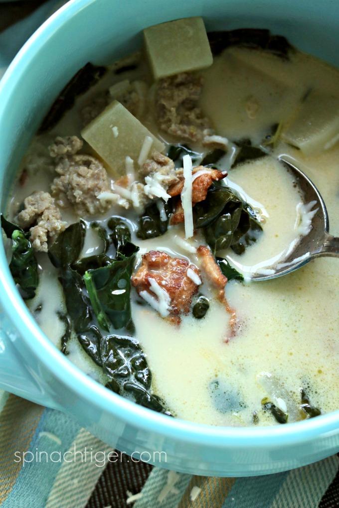 Olive Garden Zuppa Toscana Recipe (Keto)