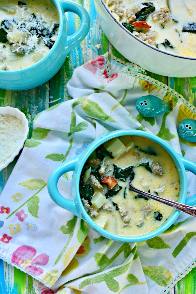 Keto Olive Garden Zuppa Toscana Recipe