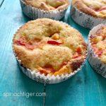 Grain Free Peach Muffin