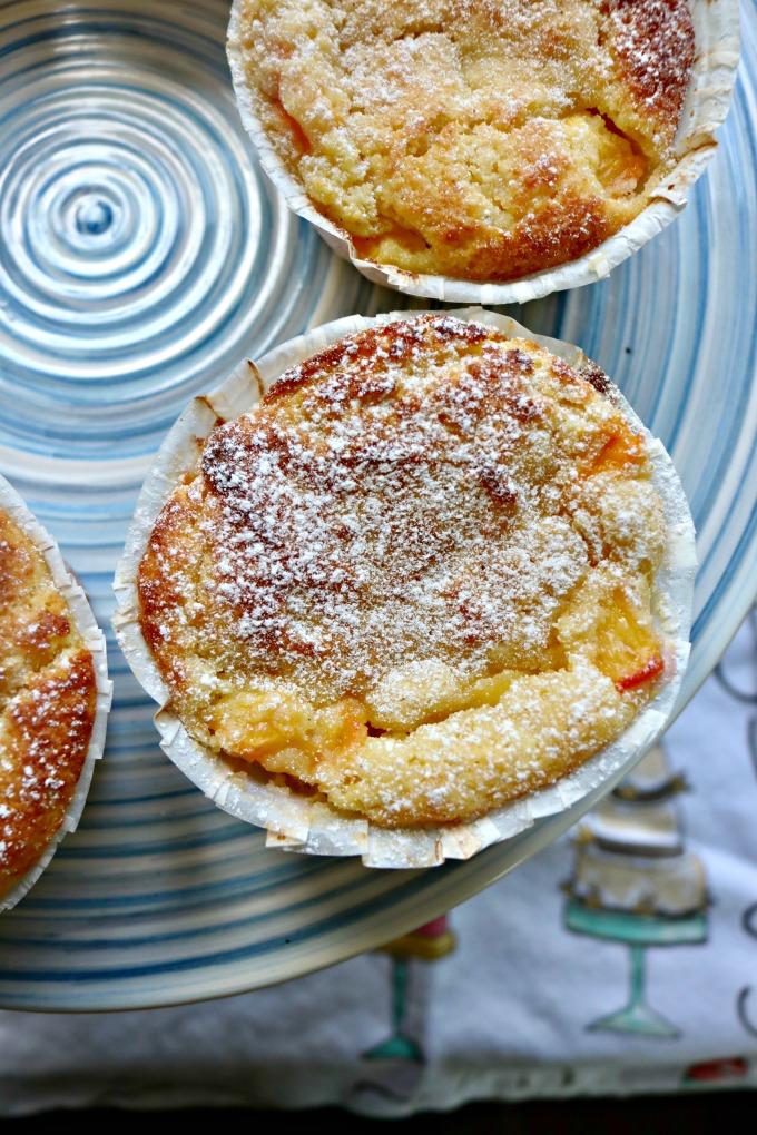 Grain Free Peach Muffins