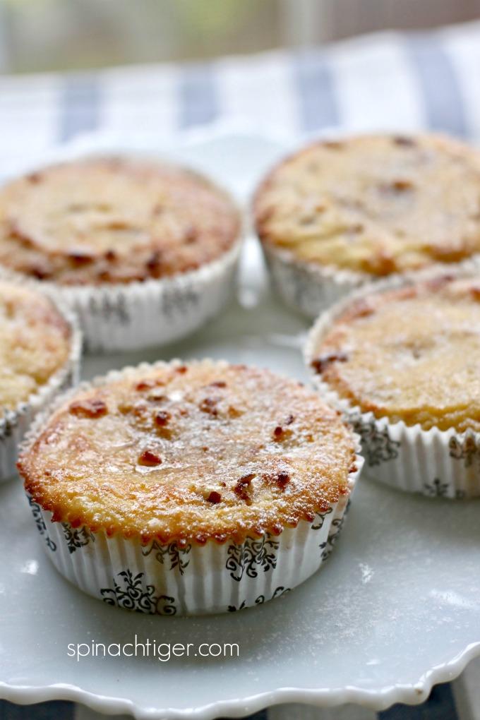 Keto Maple Pecan Muffin, Gluten Free