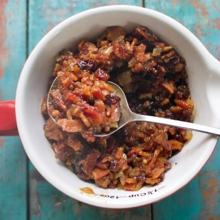 Maple Bacon Jam Ingredients